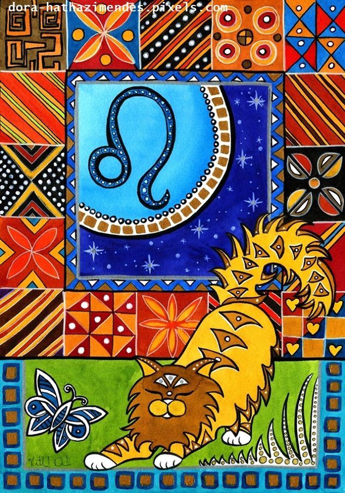 Leo Cat Zodiac