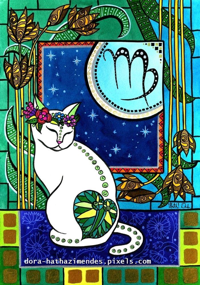 Virgo Cat Zodiac