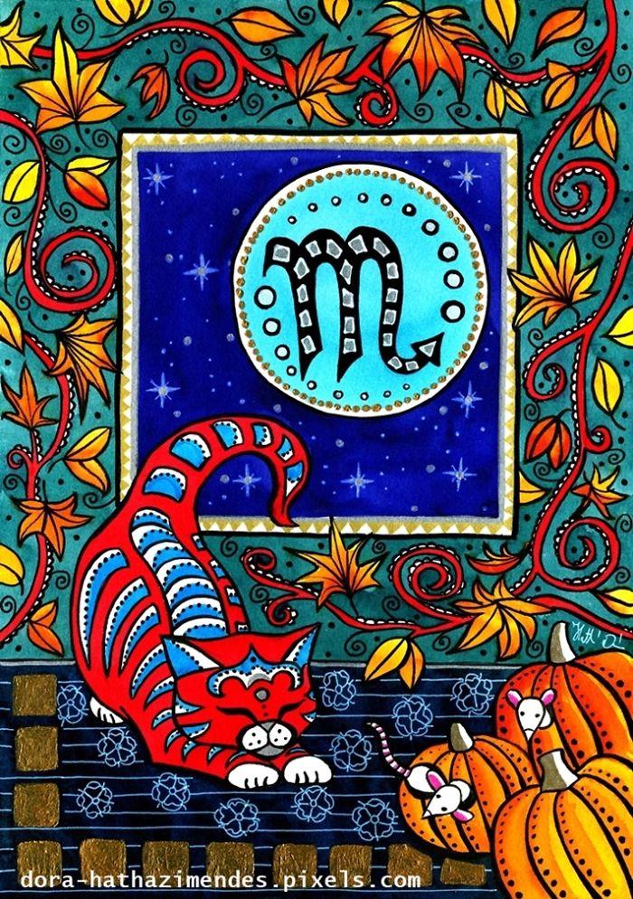 Scorpio Cat Zodiac