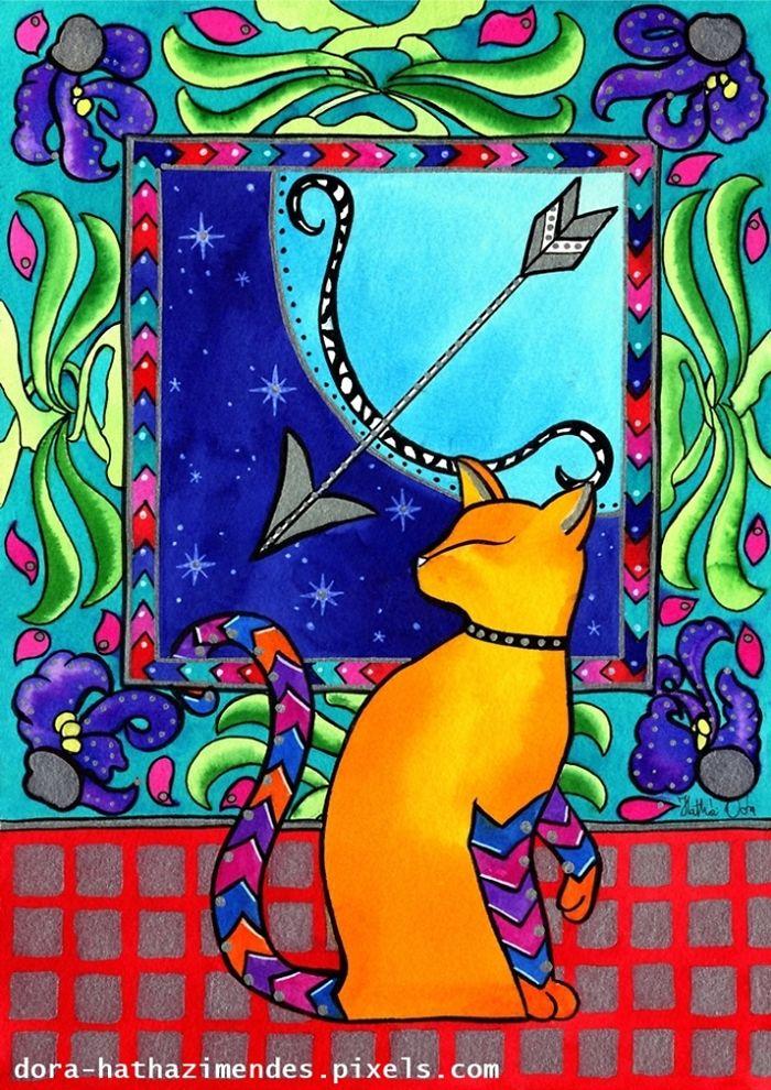 Sagittarius Cat Zodiac