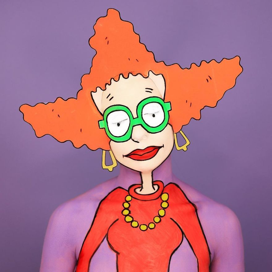 Makeup Artist Interprets Our Favorite Characters Through Makeup In An Impressive Way...