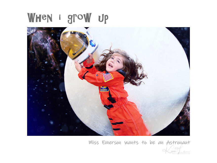 30 Kids Answered What They Want To Be When They Grow Up For My Photography Series This Halloween