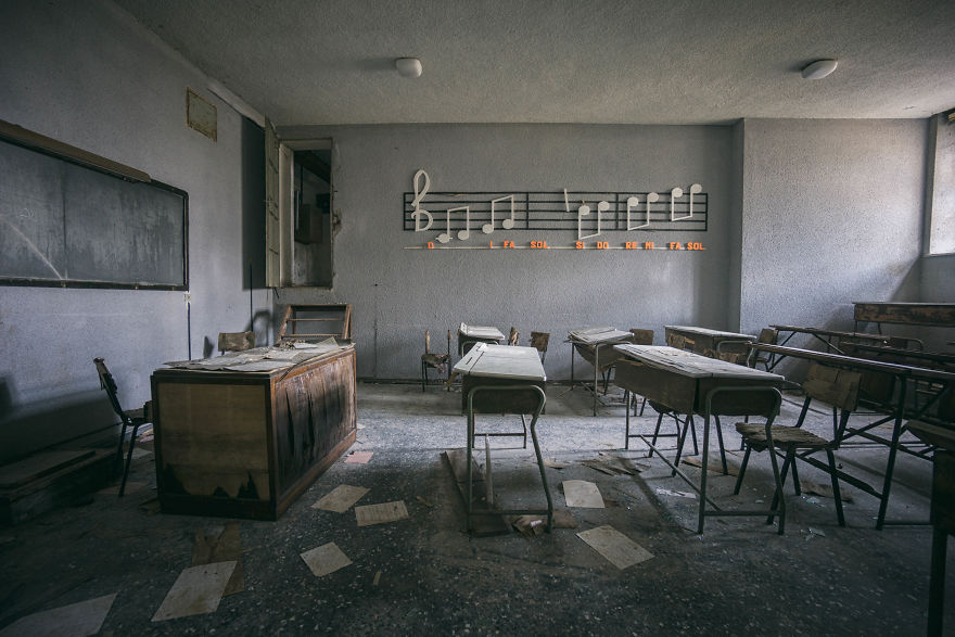 Abandoned Musical School In Italy