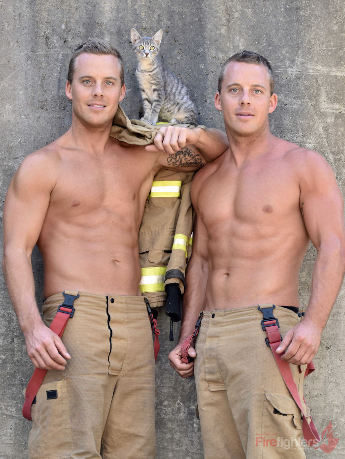 The Australian Firefighters 2019 Calendar Has Already Been Announced And This Charity Is Very Beautiful To See