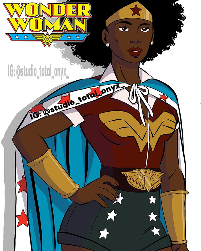 This Artist Reimagined 10 Cartoons With Black Characters ...