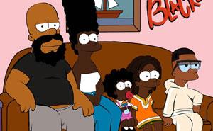 Este artista reimaginó 10 dibujos animados con personajes negros, y el resultado no gustó a todos