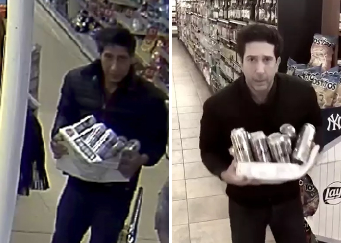 People Can't Stop Laughing At David Schwimmer's Response To Being Accused Of Stealing A Pack Of Beer