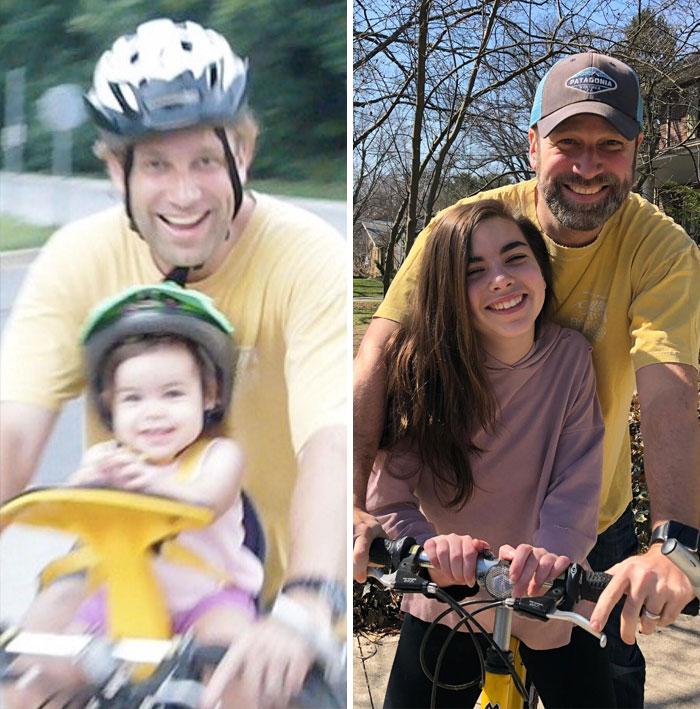 Same Shirt. Same Bike. Same Kid. Officially A Teen
