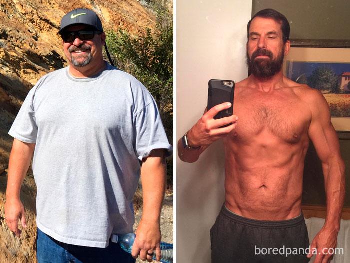 Perdí 47 kilos en 15 meses. Primero dejé de beber, luego cambié mi dieta. Finalmente pasé 12 meses haciendo ejercicio. Es posible cambiar