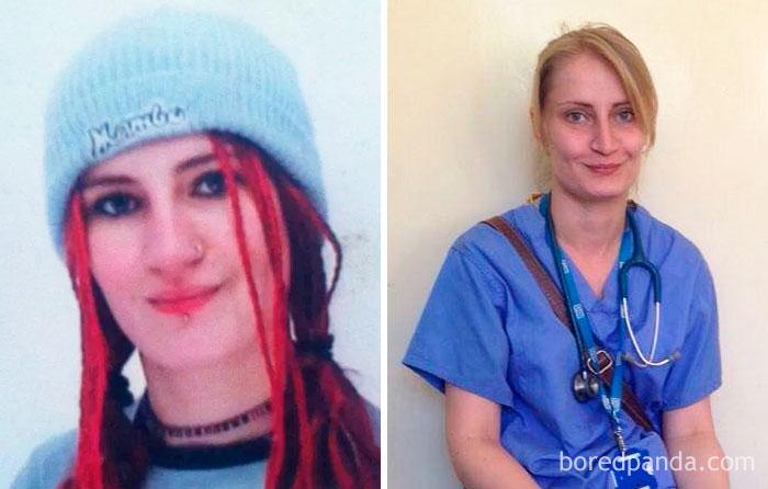 Esta mujer fue echada de la escuela a los 14 años, luchó contra su depresión y alcoholismo, y 15 años después se convirtió en doctora