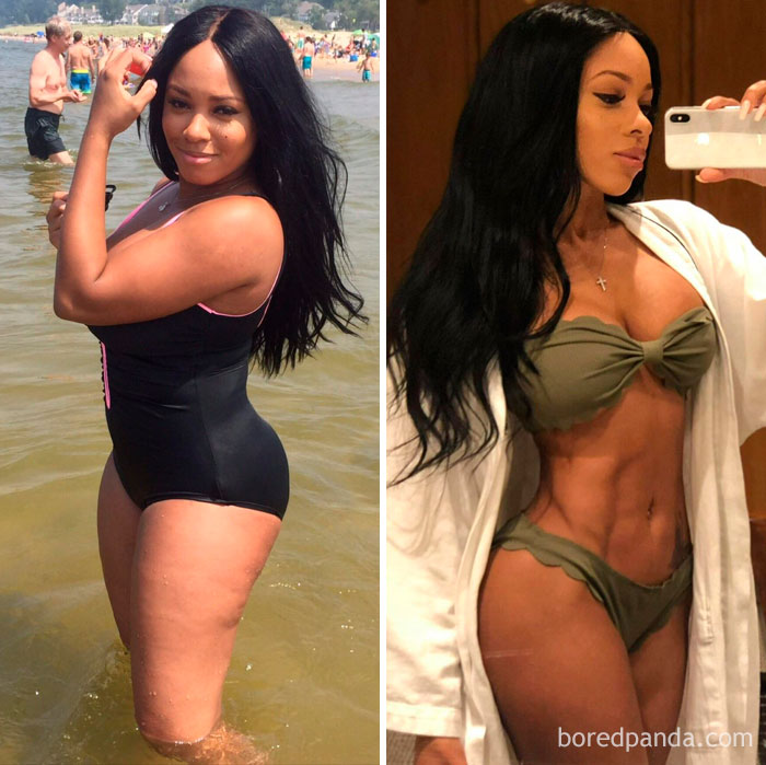 256 Times People Surprised Everyone By Losing So Much Weight They Looked Like A Different Person New Pics Bored Panda