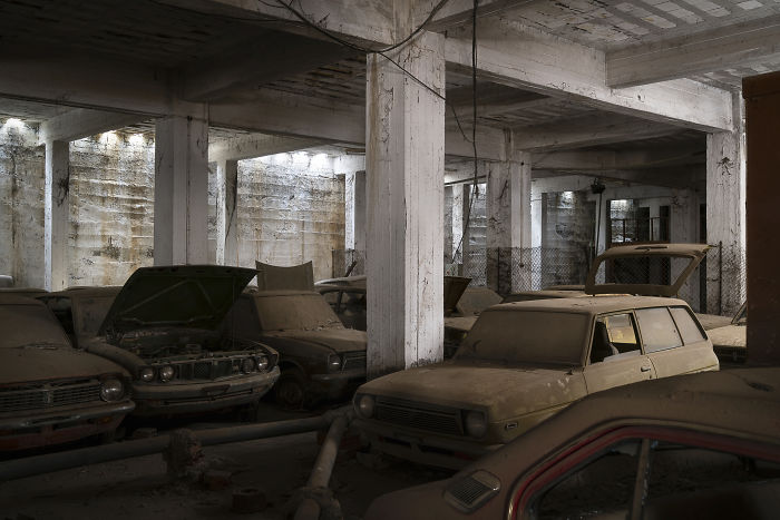 Car Storage With 'New' Cars