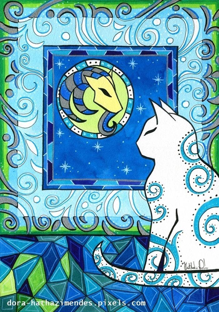 Capricorn Cat Zodiac