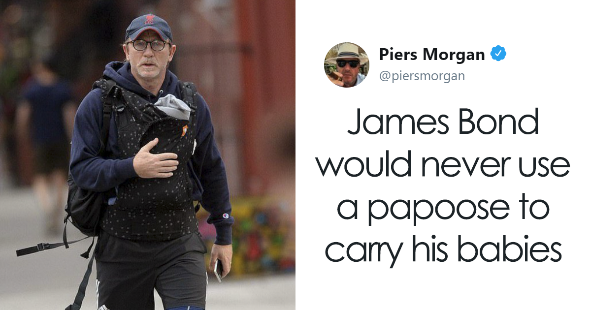 Piers Morgan's Joke About 'Emasculated' James Bond Infuriated The Internet So Much That Even Chris Evans Replies
