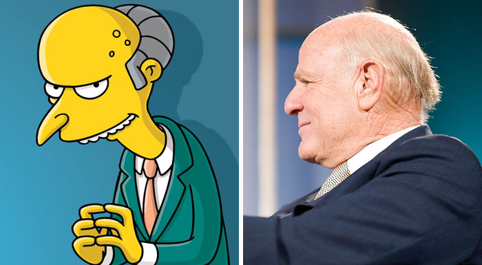 Mr. Burns (Barry Diller)