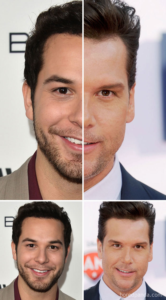 Skylar Astin And Dane Cook