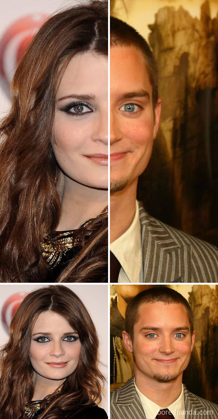 Mischa Barton And Elijah Wood