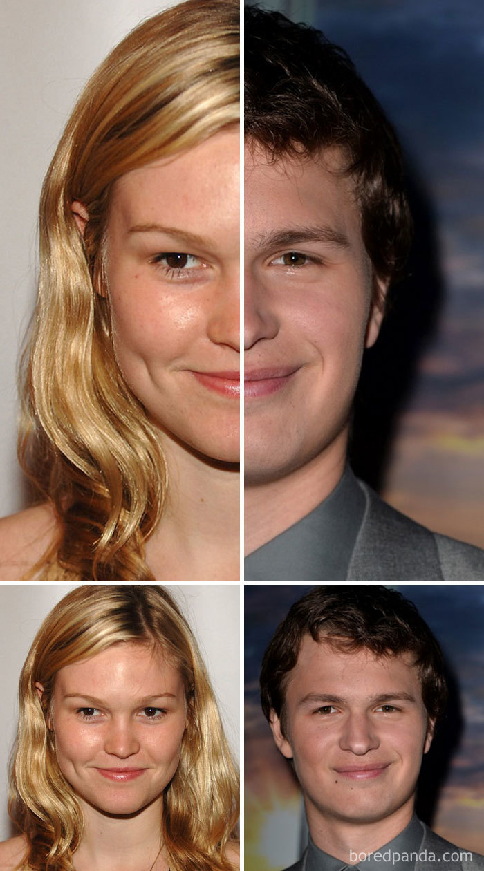 Julia Stiles And Ansel Elgort