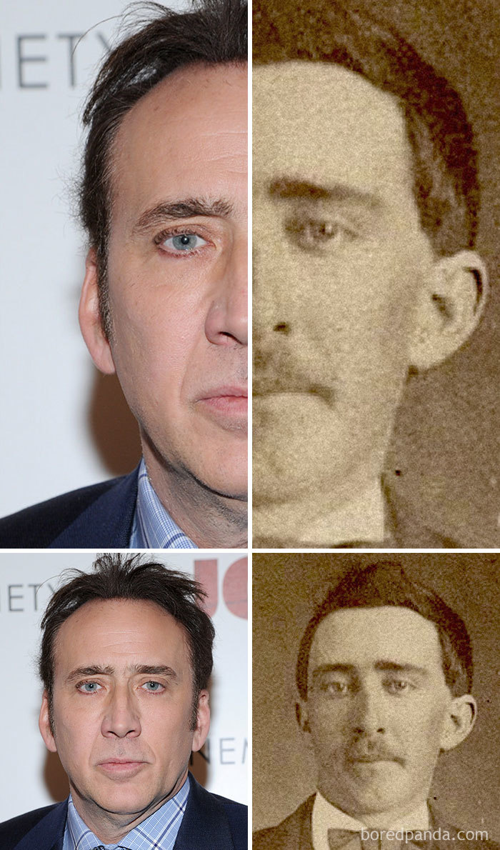 Nicolas Cage And A Civil War-Era Man
