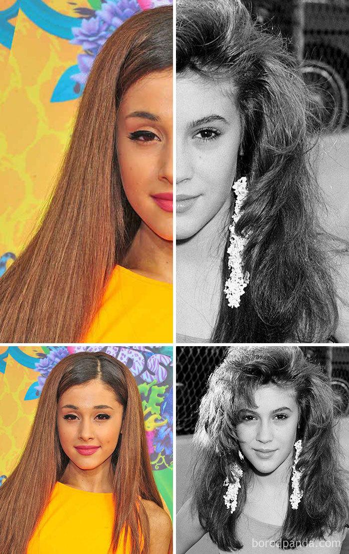Ariana Grande And Alyssa Milano