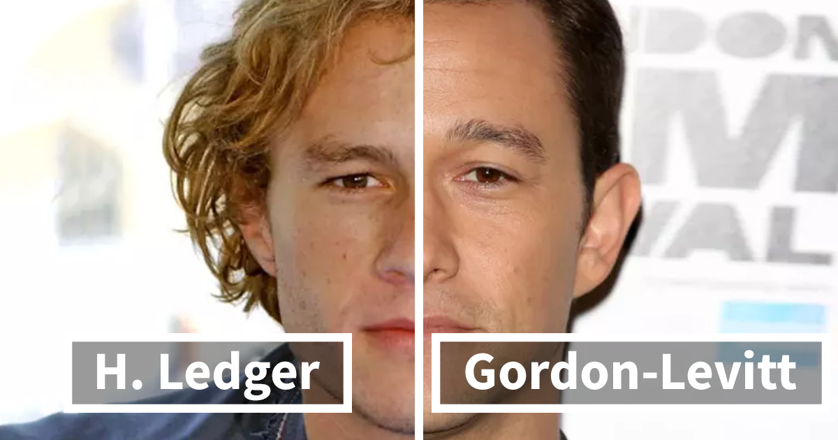 17+ Photos Of Celebrity Lookalikes Get Stitched Together, And The Result Will Make You Do A Double Take