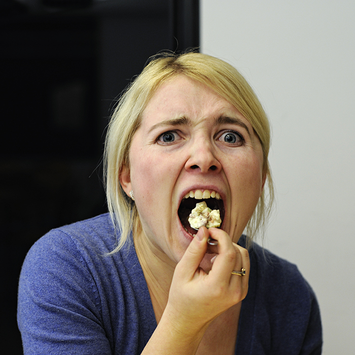 Eating With Your Mouth Open