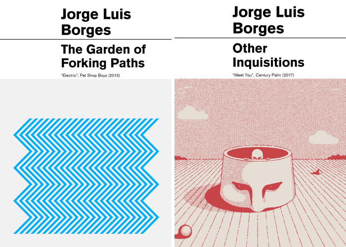13 Borges Books That Popular Music Album Covers Can Perfectly Illustrate