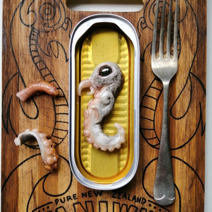 Deliciously Creepy Seafood From New Zealand
