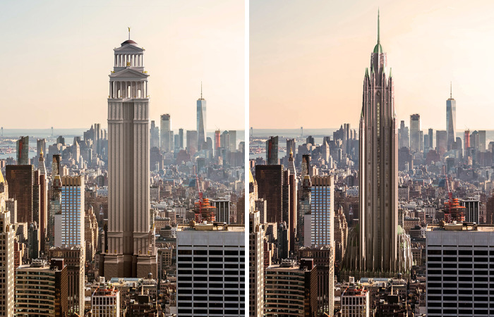 Artists Give The Empire State Building An Architectural Makeover