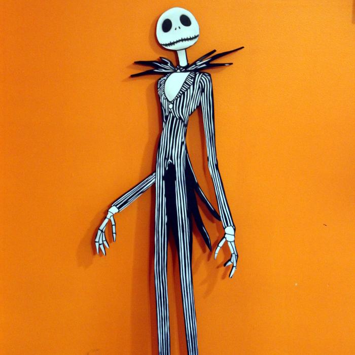 I'm Hiding Jack Skellington On Halloween