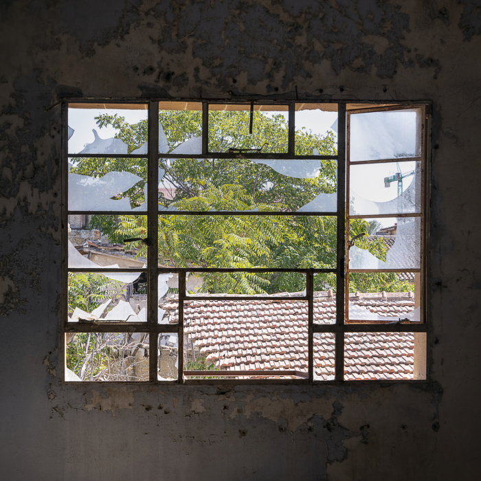 A Rare View Inside The Buffer Zone In Nicosia – Cyprus