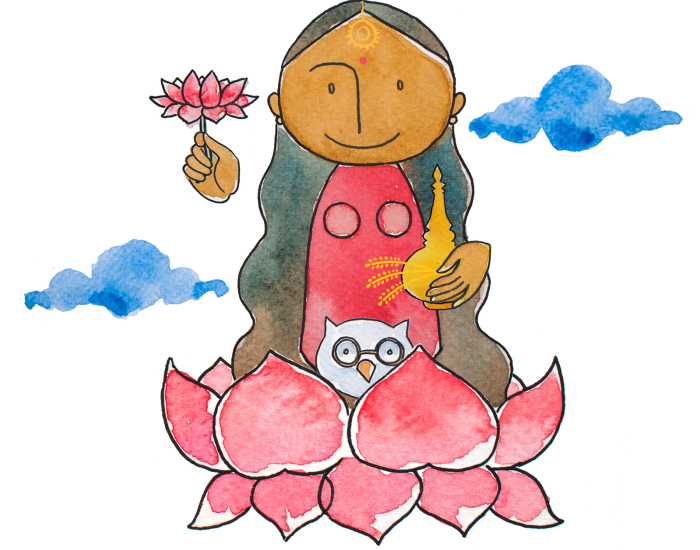 We Created A Series Of Fairytales About Indian Mythology For Our Baby, And This Is One Of Them