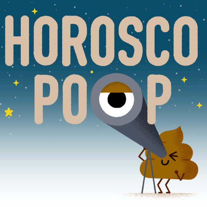 Being The Great Poop Artist That I Am, I Combined 2 Beloved Things: Poop And Zodiac Signs