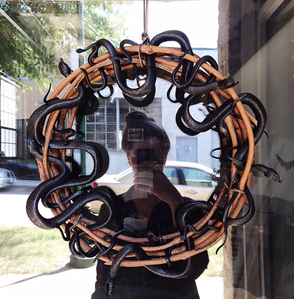 Snake Wreath By My Fiancé