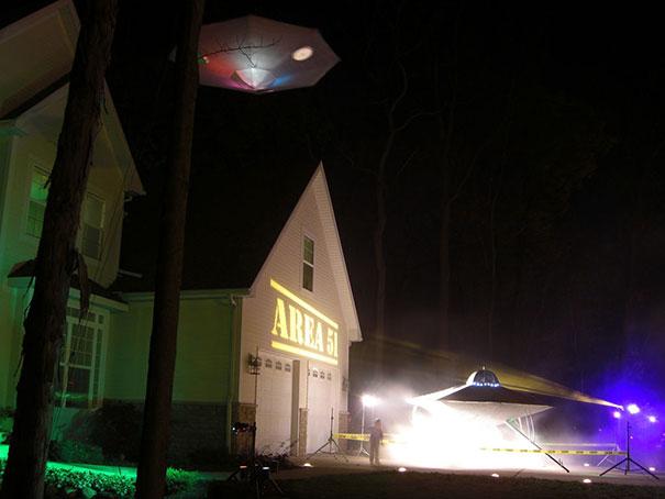UFO Invasion At Area 51