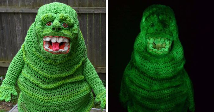 9 Halloween Costumes That I Crocheted For My Kids Bored Panda