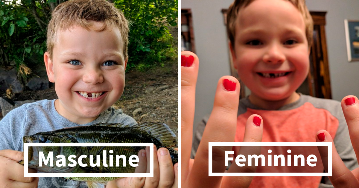 Boy Gets Bullied At School For Wearing Nail Polish, And People Are Applauding His Dad's Response