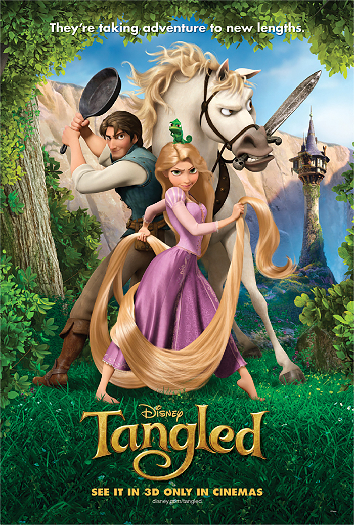 Rapunzel Unbraided - Tangled