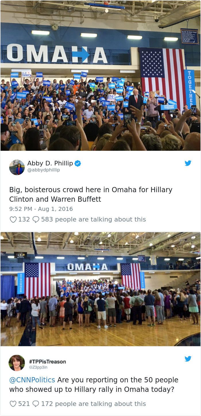 Hillary Rally In Omaha