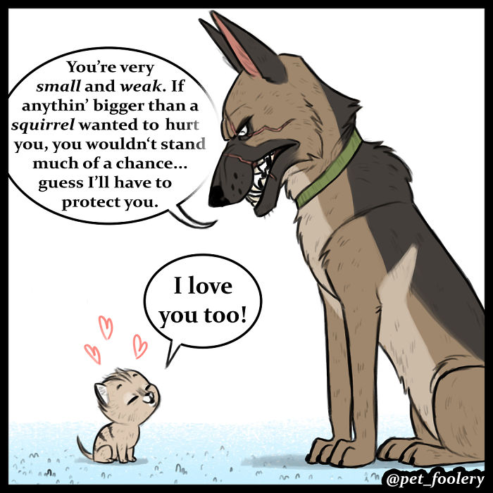These Hilariously Adorable Comics About Brutus And Pixie Will ... ba3a7b350b