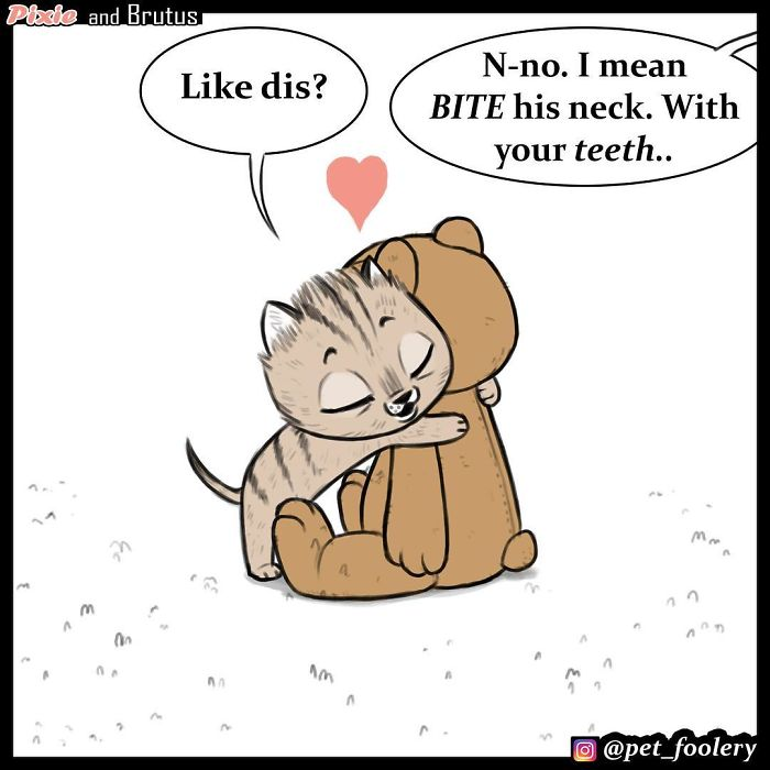 These Hilariously Adorable Comics About Brutus And Pixie Will Instantly Make Your Day