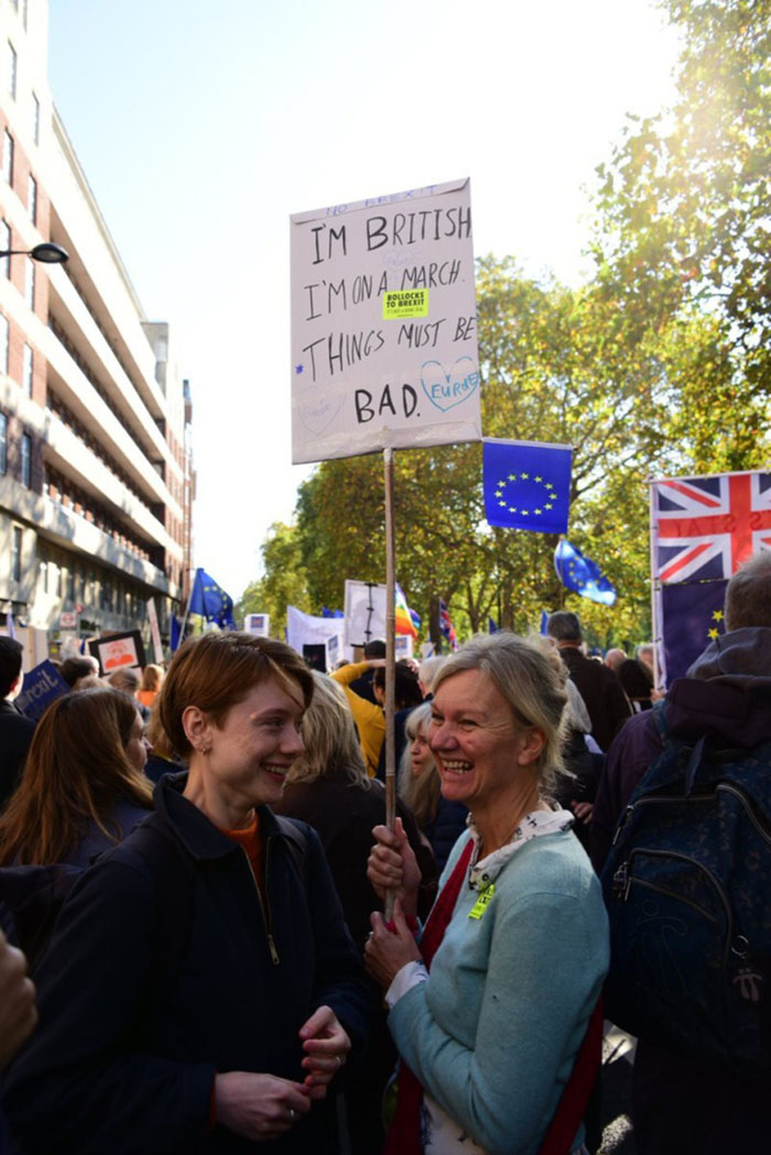 Anti Brexit Signs