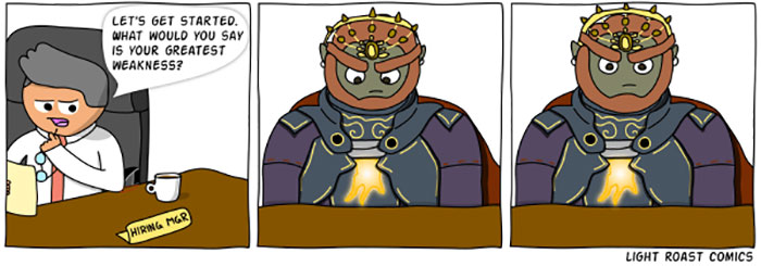 Ganondorf Goes To Work