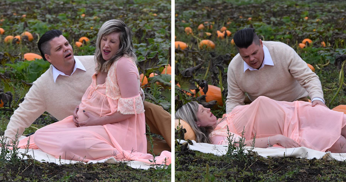 Couple Take Maternity Photo Shoot To The Next Level (WARNING: Some Images Might Be Too Much For You)