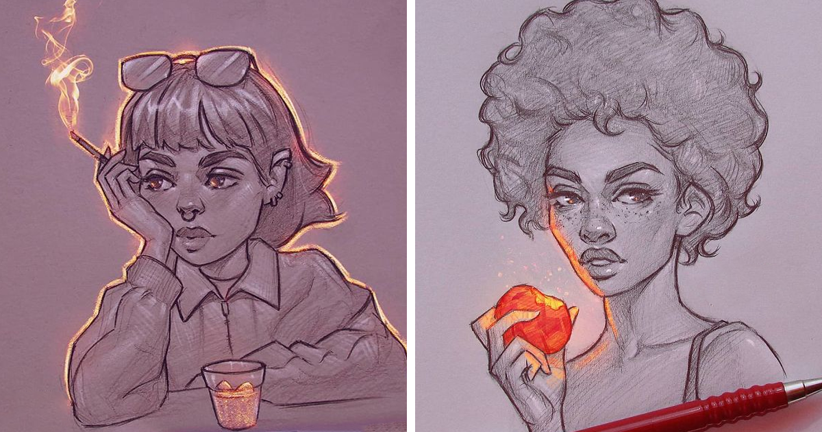 Artist Gives His Illustrations Their Own Light And The Result Is Incredible