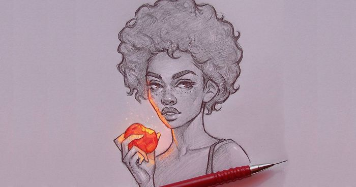 Bulgarian Artist Makes Incredible Illustrations That Glow From