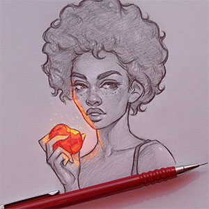 Bulgarian Artist Makes Incredible Illustrations That Glow From Within