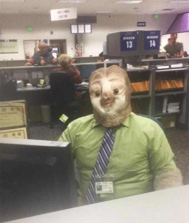 So My Friend Went To The DMV On Halloween