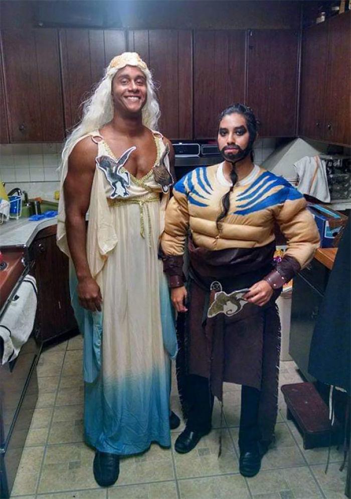 Daenerys y Drogo