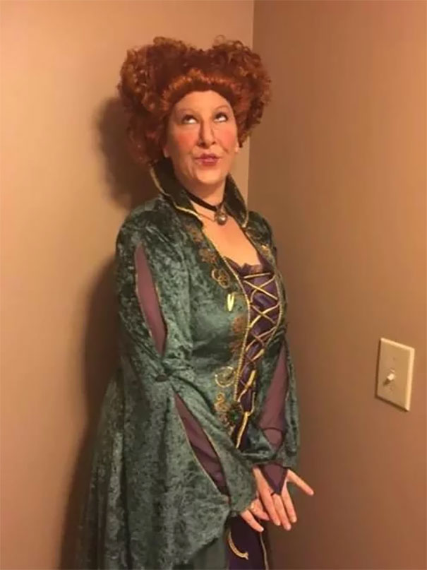 I Think My Aunt Nailed This Hocus Pocus (Bette Midler) Halloween Costume